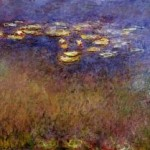 Monet: Agapanthus present state