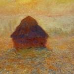 Monet: Grainstack Sun in the Mist