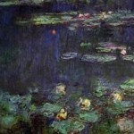 Monet: Green Reflexions right panel