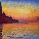 Monet: San Giorgio Maggiore at Dusk (1908)