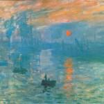 Monet: Impression sunrise (1872)