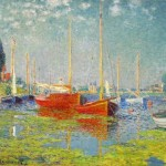 Monet: Red Boats at Argenteuil